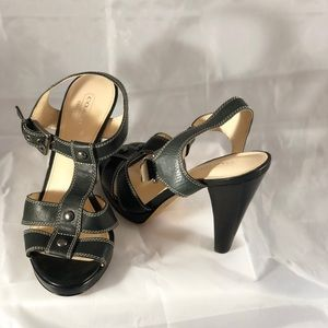 """🌹Coach black leather shoes """"Ginger"""". Size 7.5 B"""